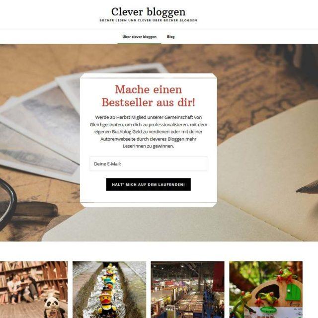 Clever bloggen - die neue Plattform für clevere Bloggerinnen