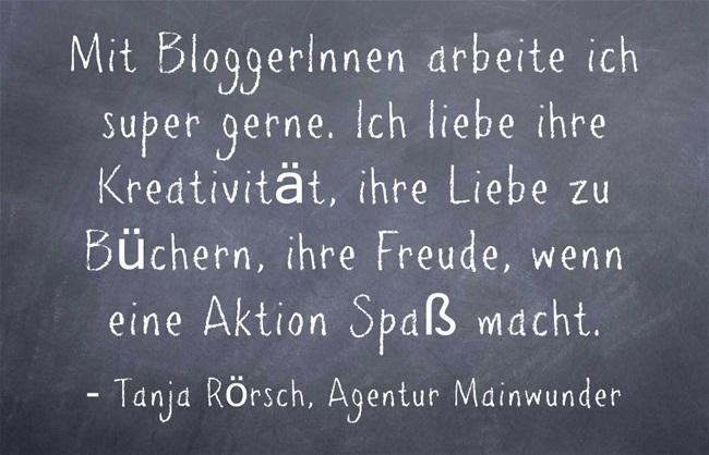 Tanja Rörsch über ihre Zusammenarbeit mit Bloggerinnen