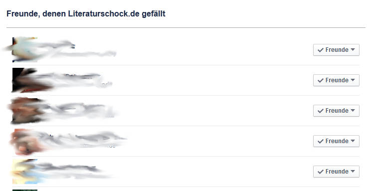 Facebook-Freunde